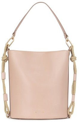 Vanessa Bruno Calfskin Leather Holly bucket bag
