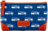 Dooney & Bourke NFL Seahawks Cosmetic Case