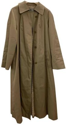 Aquascutum London Khaki Cotton Coat for Women