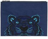 Kenzo Tiger canvas clutch