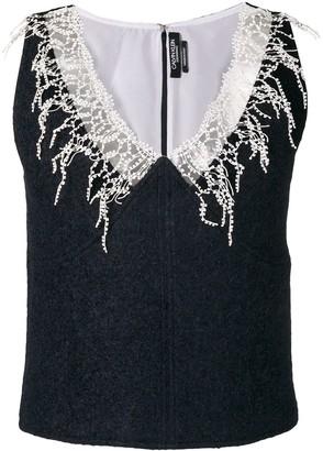 Calvin Klein Embroidered Detail Top