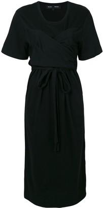 Proenza Schouler Cap Sleeve Tied Dress