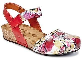 Art POMPEI women's Sandals in Pink