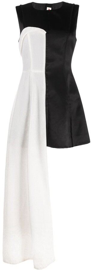 Marni Two-Layer Fitted Dress