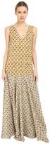 Just Cavalli Printed Maxi Dress