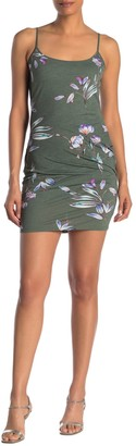 Rachel Roy Lourdes Floral Twist Back Mini Dress