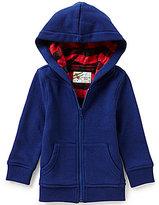 Class Club Little Boys 2T-6 Plaid Lined Fleece Hooded Jacket