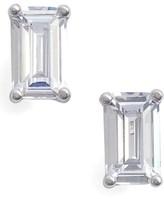 Nordstrom Women's Emerald Cut 0.50Ct Tw Cubic Zirconia Stud Earrings