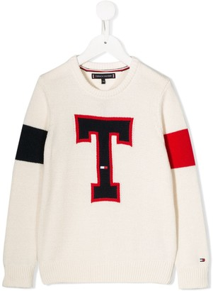 Tommy Hilfiger Junior T knit jumper