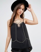 Pieces Layering Chain Body Harness
