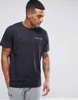 Under Armour Charged Cotton T-shirt In Black 1277085-001
