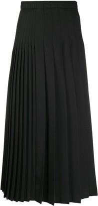 Ermanno Scervino Pleated High Waist Skirt