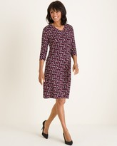Chico's Chicos Convertible Printed Dress