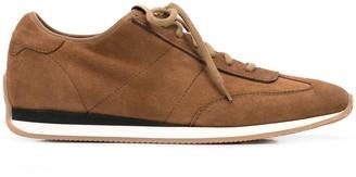 Santoni Pause low-top suede sneakers