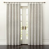 Crate & Barrel Dover Cream/Taupe Curtain Panels