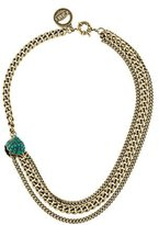 Giles & Brother Curb Chain Multistrand Necklace