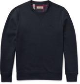 Burberry Fleece-Back Cotton-Blend Jersey Sweatshirt