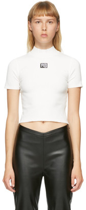 alexanderwang.t White Logo Patch T-Shirt