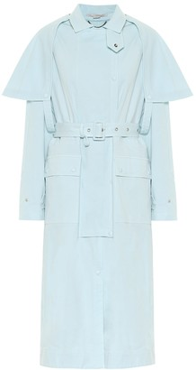 Stella McCartney Stacey stretch-cotton trench coat