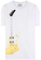 Acne Studios Eris Guitar Embellished Cotton-blend Top