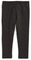 Tea Collection Infant Girl's Sparkle Stripe Leggings