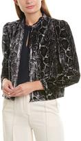 Rebecca Taylor Velvet Jacket