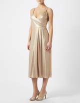 Monsoon Tata Metallic Dress