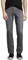 Simon Miller M001 Kane Relaxed-Slim Jeans, Medium Gray