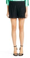 Diane von Furstenberg Benan Lace Short In Black
