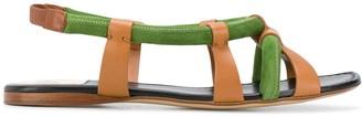 Francesco Russo Padded Strap Sandals