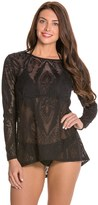 Luxe by Lisa Vogel Watermark L/S Swim Shirt 8121229