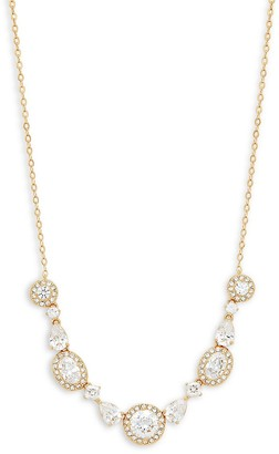 Adriana Orsini 18K Goldplated & Crystal Statement Necklace