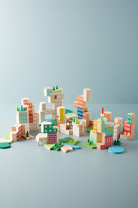 Areaware Big City Architecture Block Set By in Assorted Size ALL