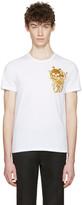 Alexander McQueen White Three Skulls T-Shirt