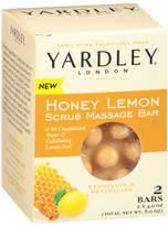 Yardley of London Scrubbing Massage Bars Honey Lemon