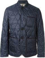 Burberry quilted classic jacket - men - Cotton/Lamb Skin/Polyester - XXXL
