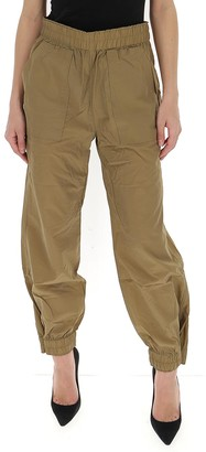 Ganni Crinkled Tech Cargo Trousers