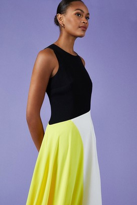 Coast Colour Block Midi Dress
