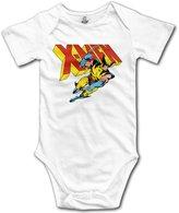 Funk Comics Wolverine X-men Baby Onesie Short Sleeve