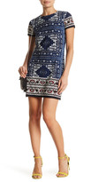 London Times Moroccan Palace Minidress (Petite)
