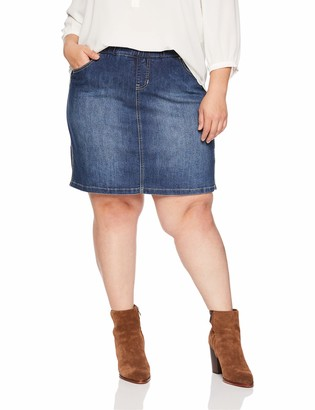 Jag Jeans Women's Plus Size On The Go Skort