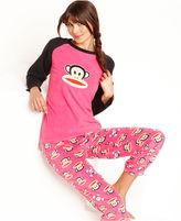 Paul Frank Age Group Pajamas, Julius Print Top and Skull Pajama Pants Set