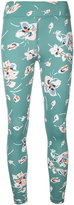 The Upside floral print fitness leggings - women - Polyamide - S
