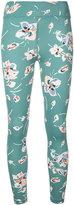 The Upside floral print fitness leggings - women - Polyamide - XXS