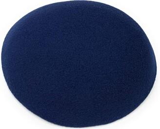 Caprilite Round Sinamay Luxury Felt Fascinator Base Pillbox Hat DIY Supplies Wholesale UK (Jade Green)