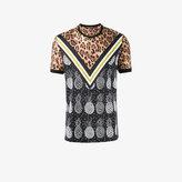 Dolce & Gabbana leopard and pineapple print t-shirt