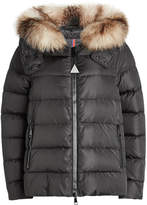 Moncler Chitalpa Quilted Down Parka with Fur-Trimmed Hood