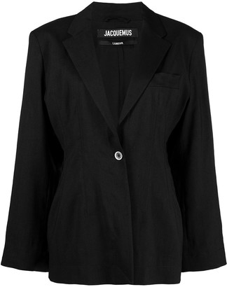 Jacquemus Single-Breasted Blazer