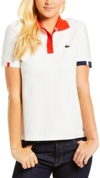 Lacoste Herringbone Polo Shirt