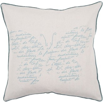 Surya Carpet Decorative Paulina 22-inch Poly or Feather Down Filled Throw Pillow